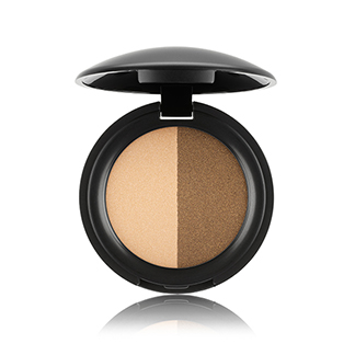Eyeshadow Duo - Pearly Effect, Golden Sun & Khaki