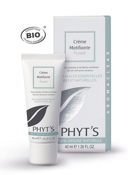 Phyt's  Soins Aromaclear Crème Matifiante Pureté  Tube 40ml