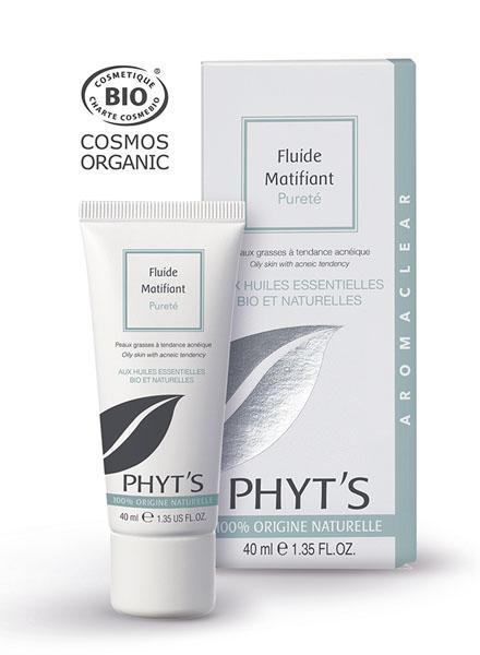 Phyt's  Soins Aromaclear Fluide Matifiant Pureté  Tube 40ml