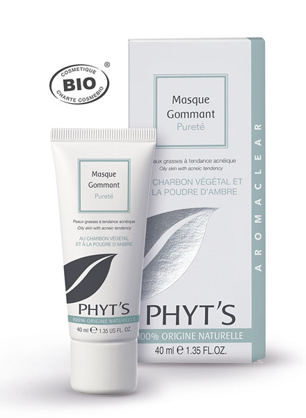 Phyt's Soins Aromaclear Masque Gommant Pureté  Tube 40ml