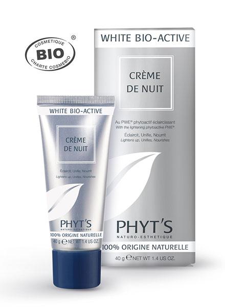 Phyt's  White Bio Active Crème de Nuit Tube 40g